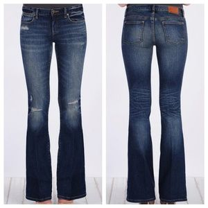 Henry & Belle Elston Lila Flare Distressed Jeans